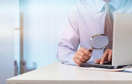 Business analytics and statistics concept Reklamní fotografie