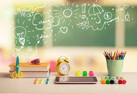 Elementary classroom concept