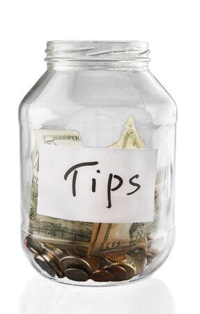 jar with money inside