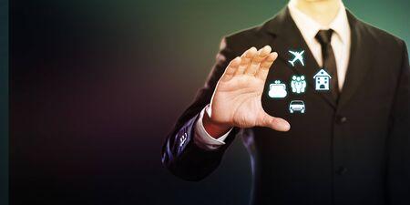 Business Insurance concept Stockfoto
