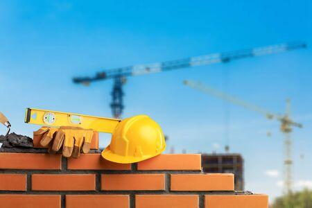 Masonry build bricklayer construction handyman layer trowel