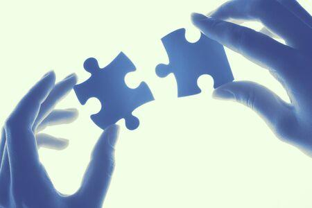 Connection Teamwork concept