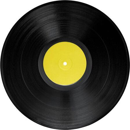 Schallplatte - isoliert