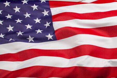 bandera de EE.UU Foto de archivo