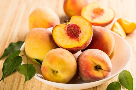Fresh sweet Peaches