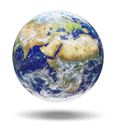Globe terrestre australie carte du monde planète carte asie Banque d'images