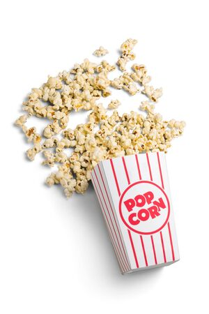Bucket of Popcorn Banco de Imagens