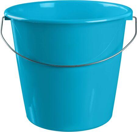 Seau bleu - isolé