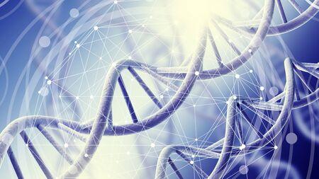 Human DNA image          - Image Stok Fotoğraf - 133630533