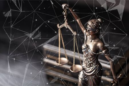 Scales of justice Stock fotó