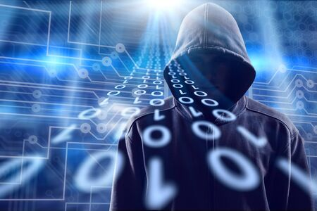 Concept of cyber thief