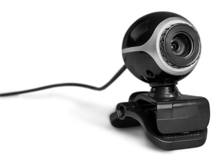 Webcam isolated in white