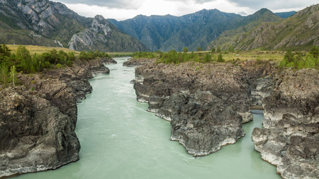 katun: Katun river Stock Photo