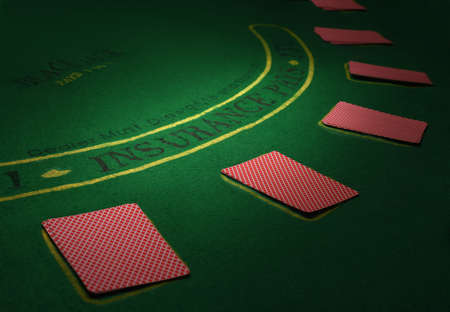 holdem: Part of poker table with cards. High resolution image.