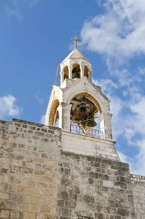 Palestine  City of Bethlehem  Church of the Nativity, the bell tower  photo