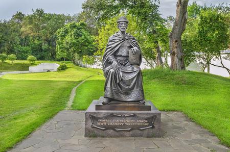igor: The monument to St. Prince Igor Olgovich Chernigov. Chernihiv, Ukraine