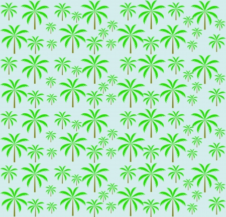 Palm trees seamless pattern  Vector illustration  EPS 10 Stock Vector - 16731961