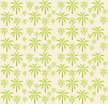 Palm trees seamless pattern  Vector illustration  EPS 10 Stock Vector - 16731959