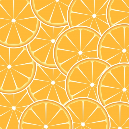 Orange fruit abstract background vector illustration Stock Vector - 16514497