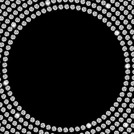 diamante negro: Fondo abstracto hermoso diamante negro