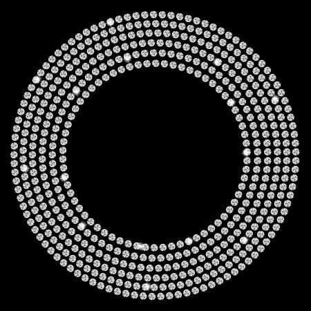 ダイヤモンド: 美しいブラック ダイヤモンド抽象的な背景