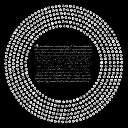 Abstract beautiful black diamond background Stock Vector - 16711279