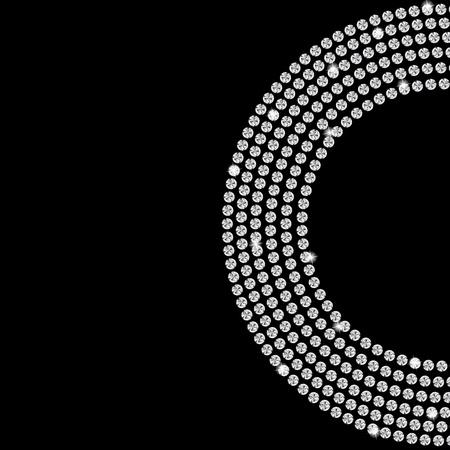 Abstract beautiful black diamond background Stock Vector - 16711276