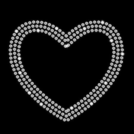 Abstract beautiful black diamond background vector illustration Stock Vector - 16984961