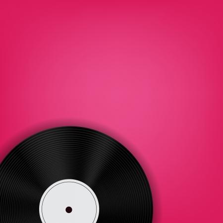 Résumé illustration vectorielle de musique de fond pour votre conception