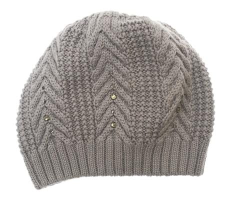 stocking cap: Winter hat isolated on white background