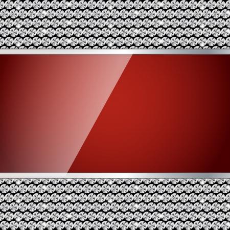 Abstract beautiful  diamond   background  illustration Vector
