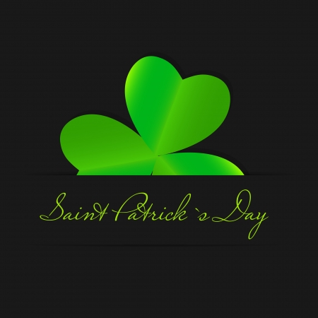 Saint Patrick s day background vector illustration Stock Vector - 17248805