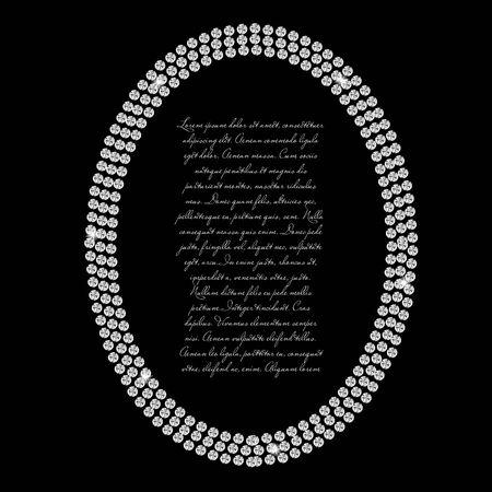 Abstract beautiful black diamond background vector illustration Stock Illustration - 17248801