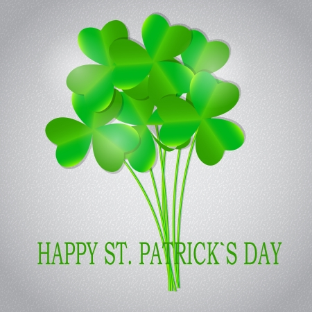 Saint Patrick s day background vector illustration Vector