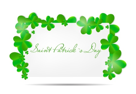 Saint Patrick s day background vector illustration Stock Vector - 17248798