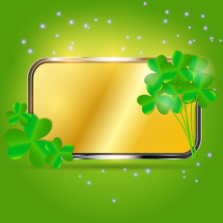 Saint Patrick s day background vector illustration Stock Illustration - 17248790