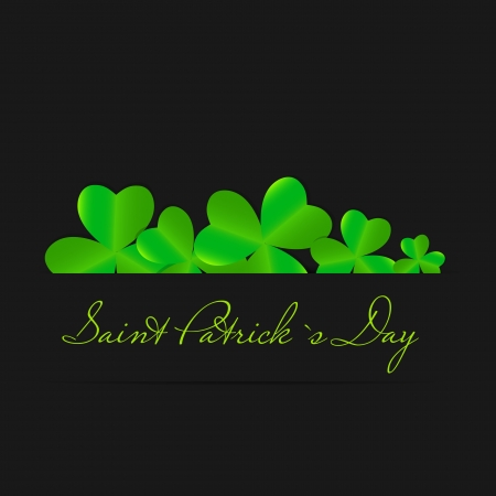 Saint Patrick s day background vector illustration Stock Vector - 17248787