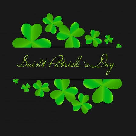 Saint Patrick s day background vector illustration Stock Vector - 17248788