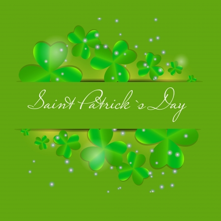Saint Patrick s day background vector illustration Stock Vector - 17248793