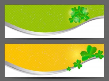 Saint Patrick s day banner vector illustration Vector