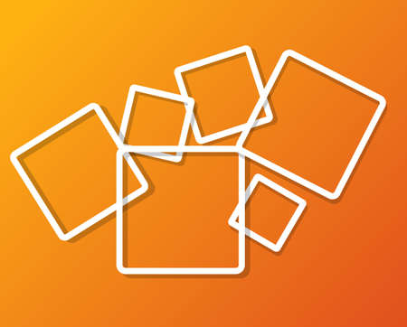 scraping: Abstract background with frames vector illustration