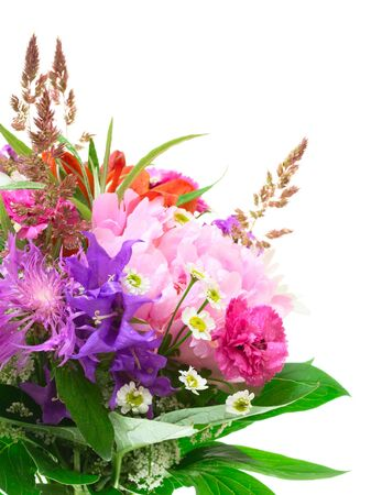 Colorful flowers bouquet Stock Photo - 17707703