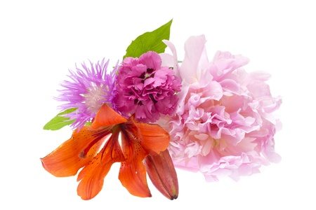 Colorful flowers bouquet Stock Photo - 17707759