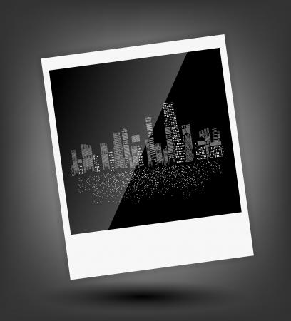 vector illustration of cities silhouette Stock Illustration - 17947014