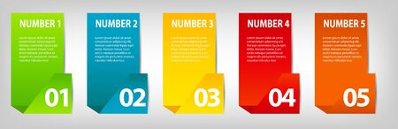 bar chart: INFOGRAPHICS design elements vector illustration
