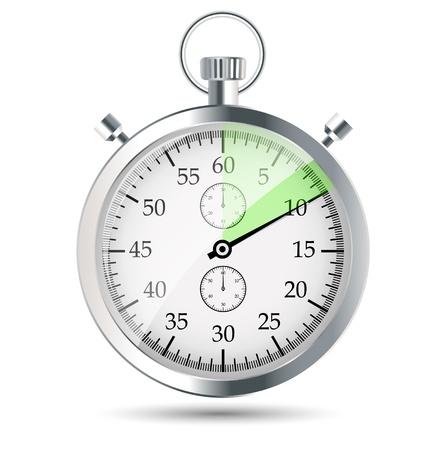 stopwatch vector illustraion Stock Vector - 19013818