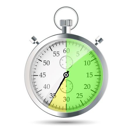 stopwatch vector illustraion Stock Vector - 19027636