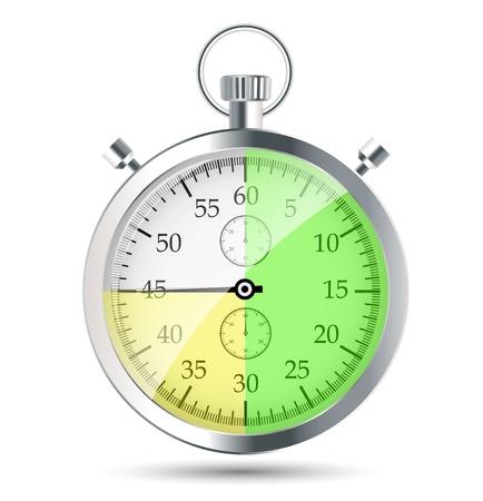 stopwatch vector illustraion Stock Vector - 19027637