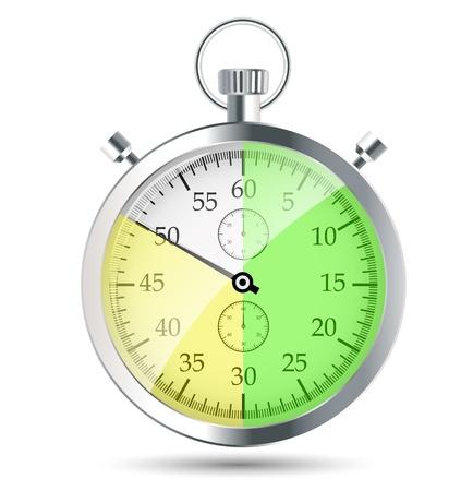 stopwatch vector illustraion Stock Vector - 19027641