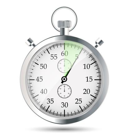 stopwatch vector illustraion Stock Vector - 19027635
